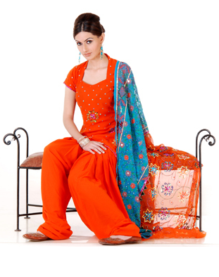Patiala Salwar, Suits and Dresses